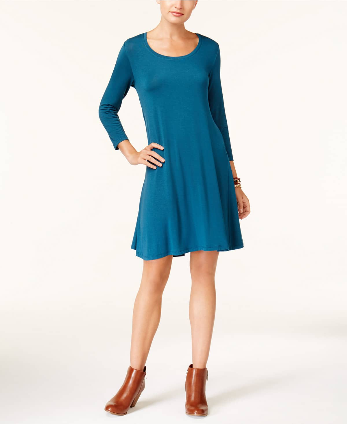Style & Co Swing Dress - $29.74 + FS on orders over $49