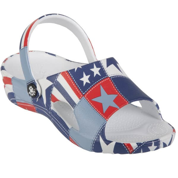 Tanga: Dawgs Olympic Flag Collection Z Sandal for $17.99, Free Shipping