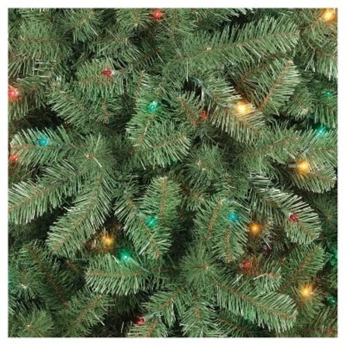 Target: 6ft Prelit Full Artificial Christmas Tree for $41.99, FS