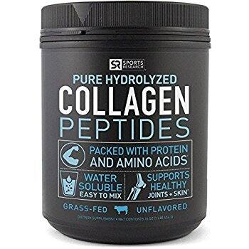 Pure Hydrolyzed Collagen Peptides, Dietary Supplement, Grass Fed, 16 OZ $20.96