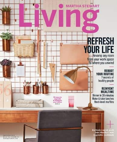 Martha Stewart Living - On Sale for $8.99 for 2 YRs - 20 Issues (Normally $40)