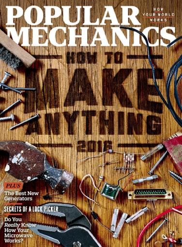 Popular Mechanics Magazine subscription - 4 years for $24.99