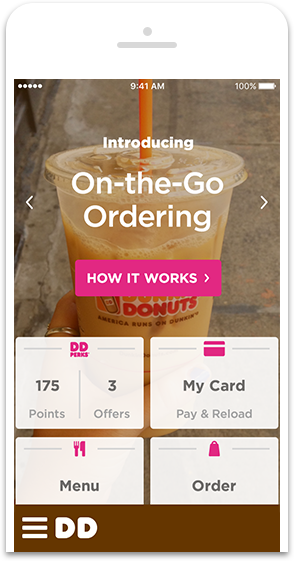 Dunkin Donuts: Get a free any size beverage when ordering on-the-go (YMMV)