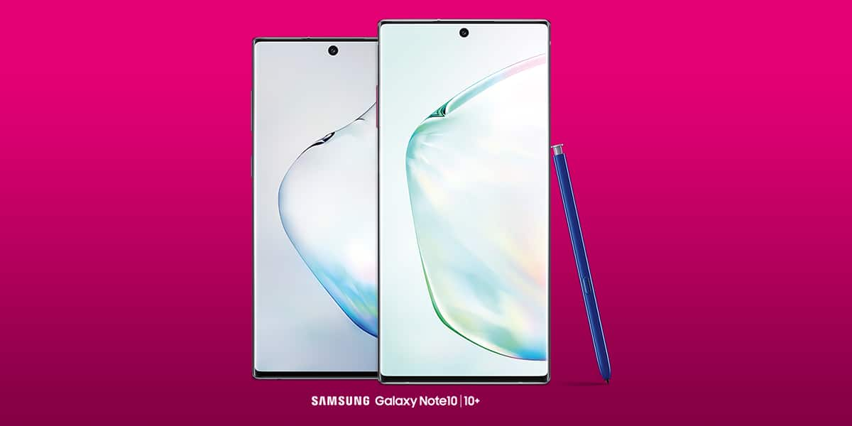 Samsung Galaxy Note 10 (up to $950) - T-Mobile - BOGO - Starting 8/23 - NEW LINE REQ + BILL CREDITS $949.99