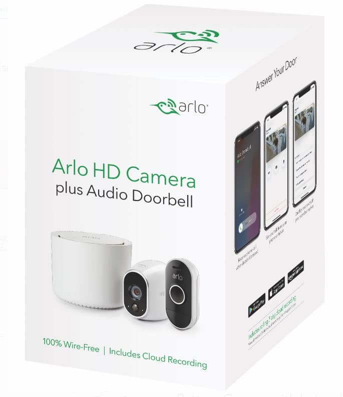 Arlo HD Camera with Audio Doorbell VMK3150 Walmart $60 YMMV