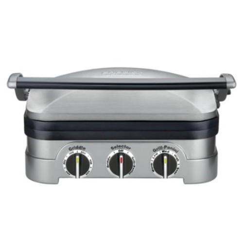Cuisinart GR-4N 5-in-1 Countertop Grill / Griddler $44.99