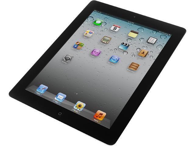 Apple iPad 2 MC769LL/A Tablet (iOS 7, 16 GB, Wi-Fi) Black 2nd Generation - Grade A Refurb $149.99