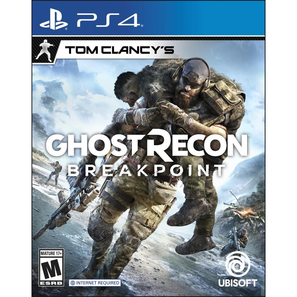 Tom Clancy's Ghost Recon Breakpoint, Ubisoft, PlayStation 4  and Xbox for 15.99 at Amazon