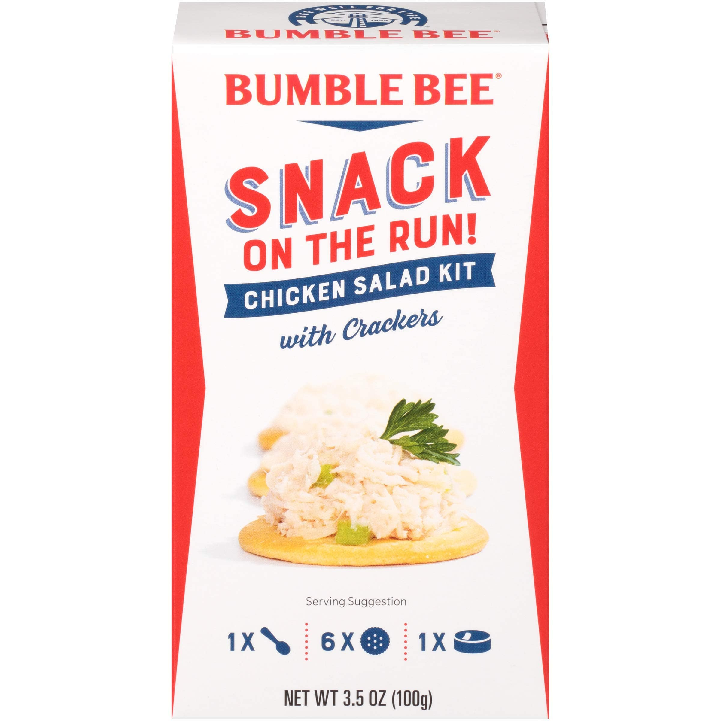 Amazon : BUMBLE BEE Chicken Salad Snack on the Run - 12  Pack  $8.88 or $8.29 W/ S&S  $3.00 off Coupon
