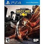 BRAND NEW SEALED inFAMOUS SECOND SON LIMITED EDITION PS4 SONY PLAYSTATION 4 USA