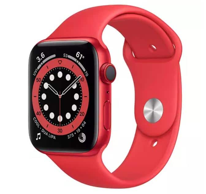 Apple Watch Series 6 (GPS + Cellular) 44mm $419.98
