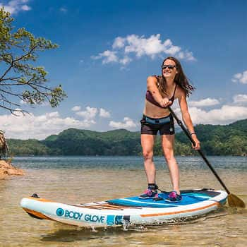 Body Glove Performer 11' Inflatable Stand Up Paddle Board Package - 319$