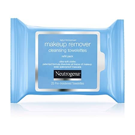 6-pk 25-Count Neutrogena Makeup Remover Cleansing Towelettes (Fragrance Free) $12.85 after 15% S&S