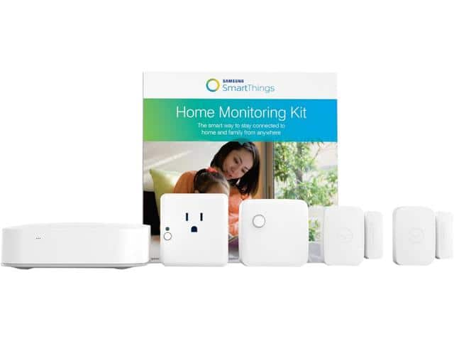 Samsung SmartThings Home Monitoring Kit (F-MON-KIT-1) $149.99 FS No Tax Most States @Newegg
