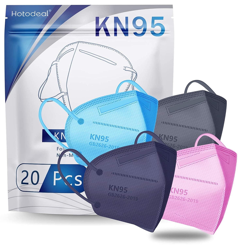 Hotodeal - KN95 Face Mask 20 PCS $9.1