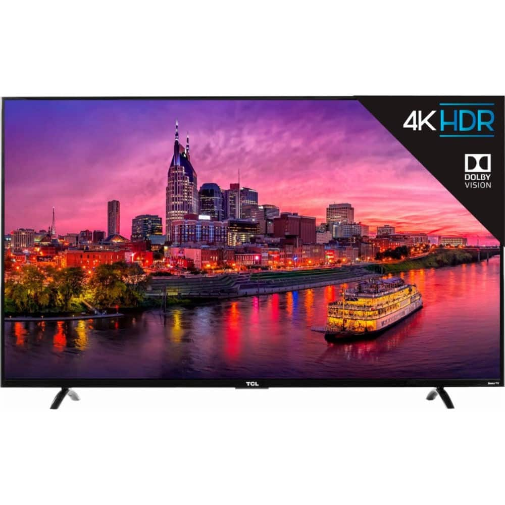 "55"" TCL 55P605 4K UHD HDR Roku Smart LED TV on sale for $449.99"