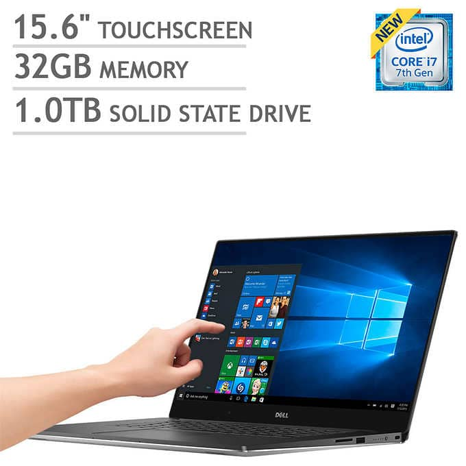Dell XPS 15 9560 Laptop i7-7700HQ 4K 15 6