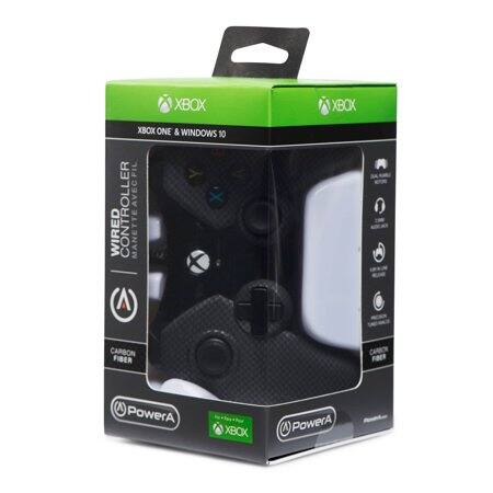 Walmart YMMV $7 PowerA  XBox One Controller/Windows 10 - CarbonFiber White or Black in-store only