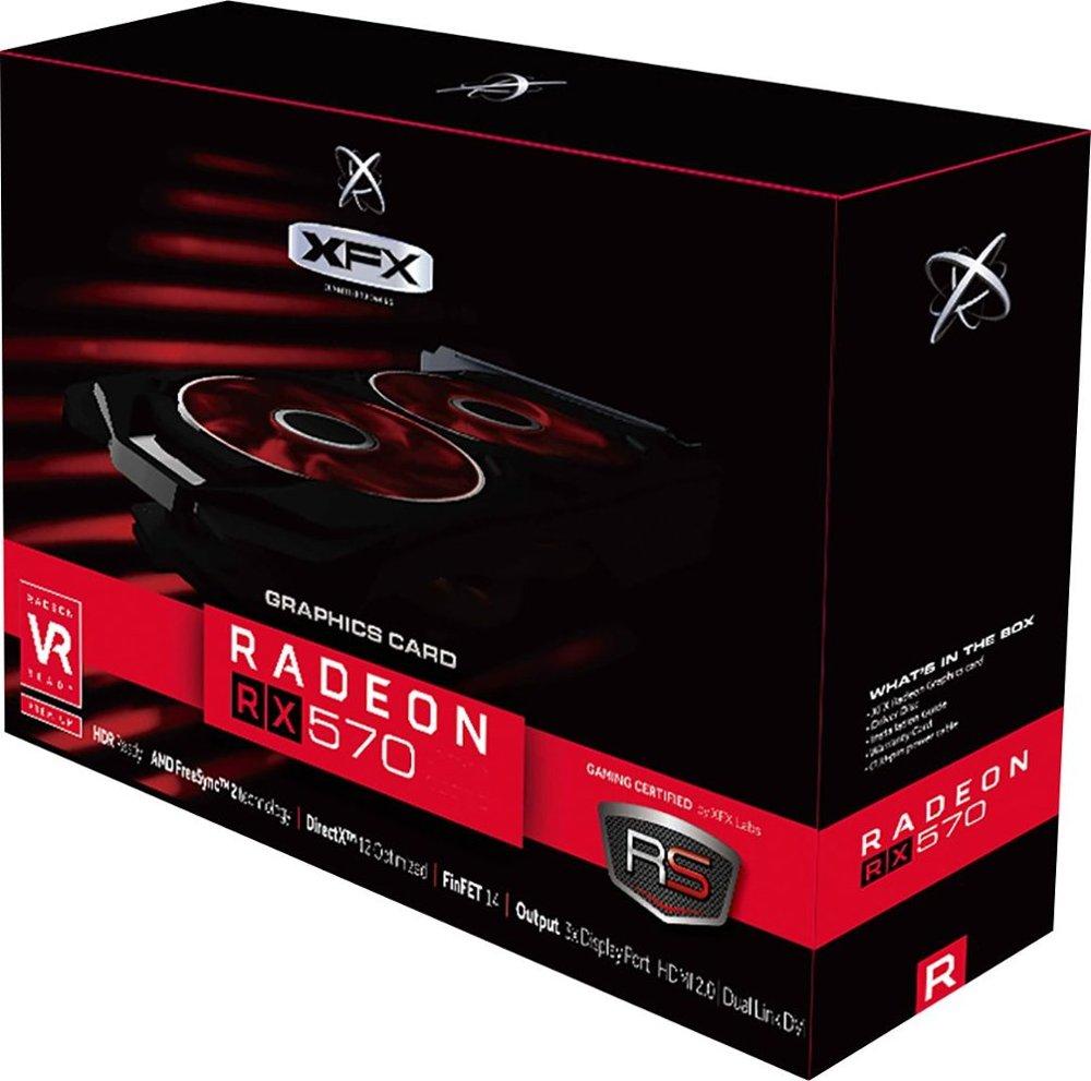 XFX - RS AMD Radeon RX 570 XXX Edition 8GB GDDR5 PCI ...