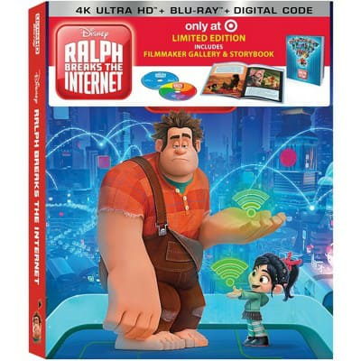 Disney (4K/UHD) (Target Exclusives) from $9.89