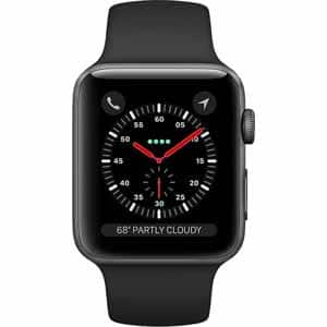Fry's Email Exclusive: Apple Watch Series 3 Smartwatch (38mm & 42mm) Certain Models GPS & Cellular 10% discount