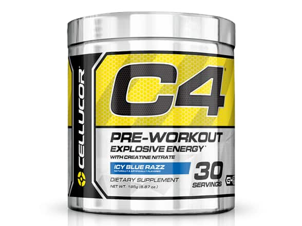 Cellucor C4 Icy Blue Razz 30 Servings - $9.99 + $5 standard shipping (WOOT APP needed)