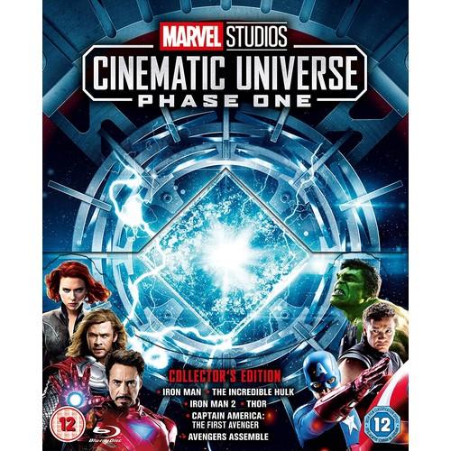 Marvel Studios Collector's Edition Box Set - MCU Phase 1 [Blu-ray] [Region Free] $39