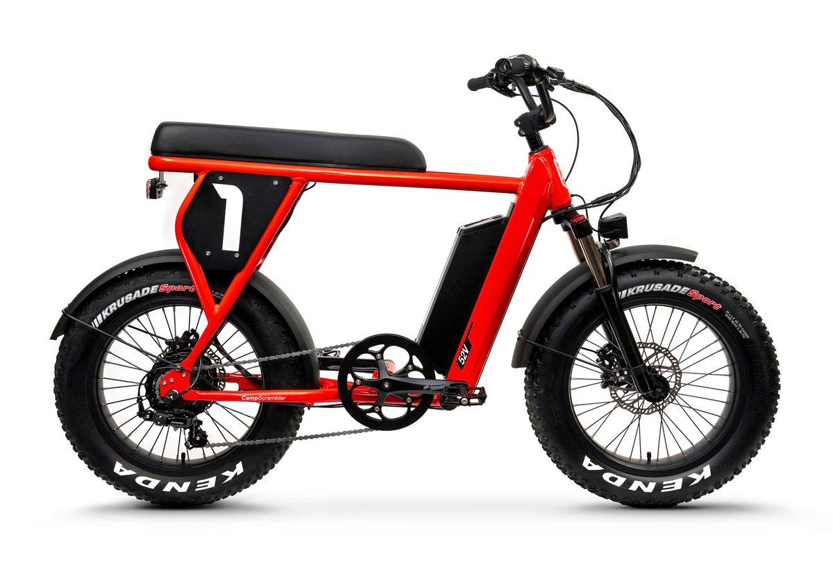 Juiced Bikes - $1299 CityScrambler and CampScrambler 28MPH E-Bike - Black Friday Sale Live!