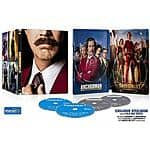 Anchorman / Anchorman 2:The Legend Continues (2-Pack Blu-ray Steelbook) (Widescreen) Value of the Day $9.96 Free Store PU