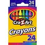 Cra-Z-Art Crayons, 24ct $.25 @ walmart free store pick up