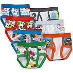 Disney Toddler Boys' Cars Favorite Characters Underwear $7.45 @ Wal Mart + free store PU