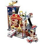 Kidkraft Deluxe Fire Station Rescue Play Set $52.44 @ target + fs
