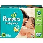 Pampers diapers on sale at staples, as low as $25 per box after visa checkout.