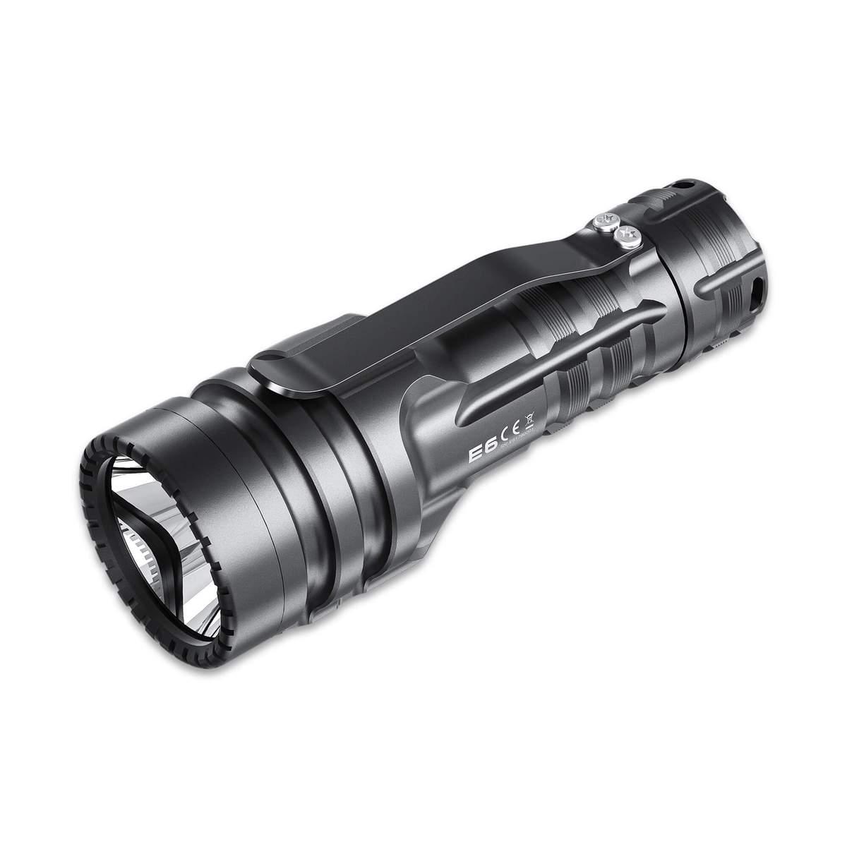WUBEN E6 mini Thrower flashlight + Website 2021 Summer Discount $46.99