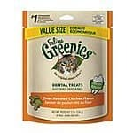 FELINE GREENIES SMARTBITES Treats for Cats $2.03 FS w/S&S (@15%) @ Amazon