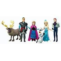Amazon Deal: Disney Frozen Complete Story Playset - 6 Piece Set only $14.98 on Amazon Prime and Walmart
