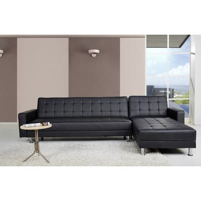 Spirit Lake Sleeper Sectional Queen Sofa Bed $517 + Tax (free Ship)  Wayfair.com