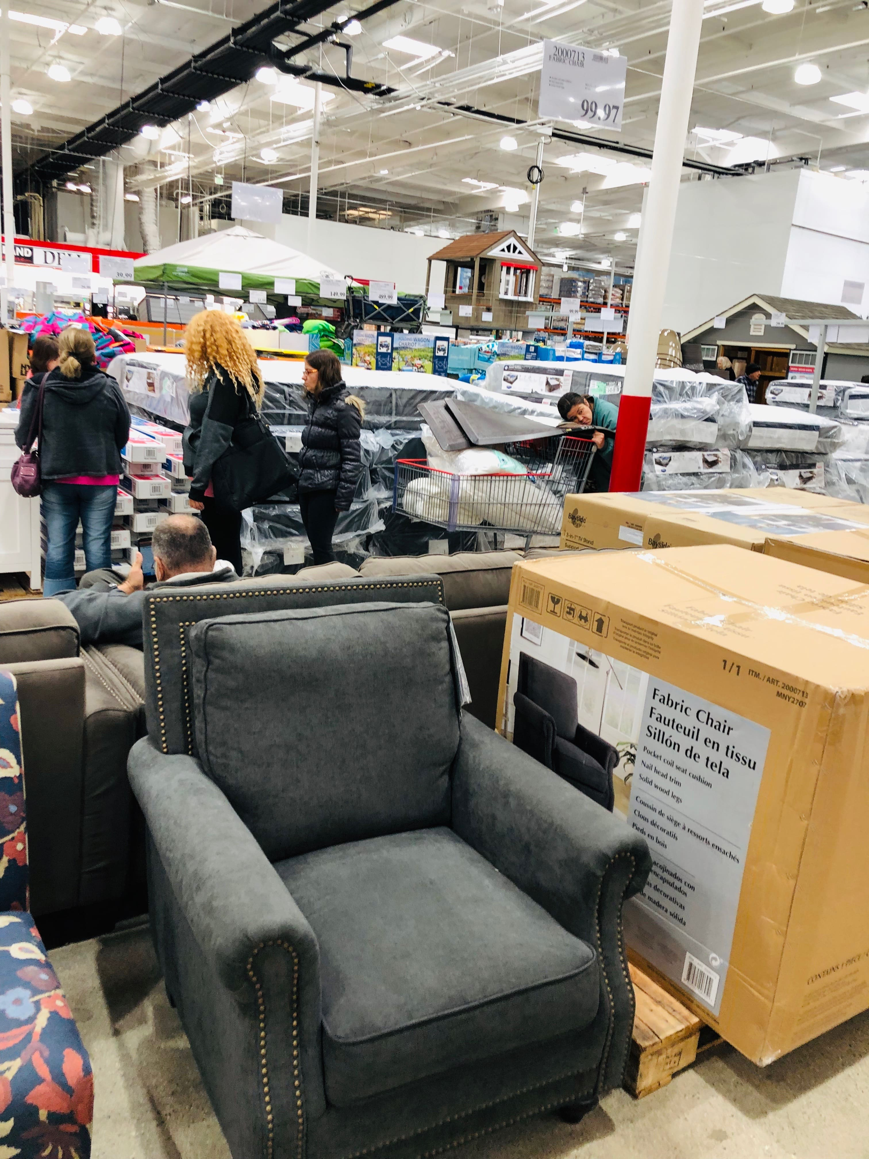 Costco In-Store  furniture on clearance (leather couches, dining table, dressers, chairs) starting $49.97 YMMV $0.97