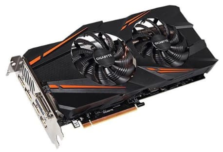 GIGABYTE GeForce GTX 1070 WindForce 8GB under $400
