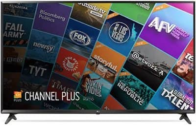 LG 55 Inch 4K Ultra HD Smart TV with HDR - 55UJ6300 with $200 dell GC - $599.99