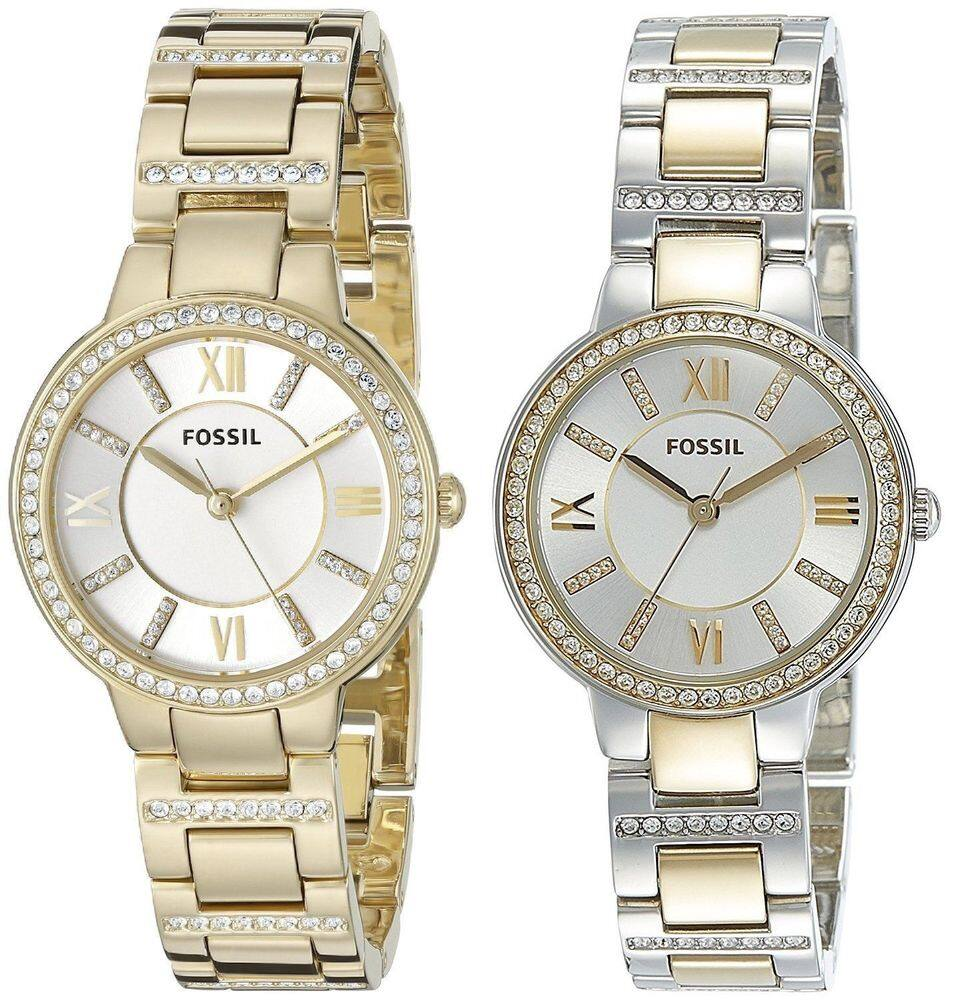 Fossil-Women-039-s-Virginia-Gold-or-Two-Tone-Stainless $49.99