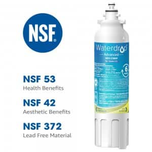 Waterdrop Replacement for Samsung Refrigerator Water Filter