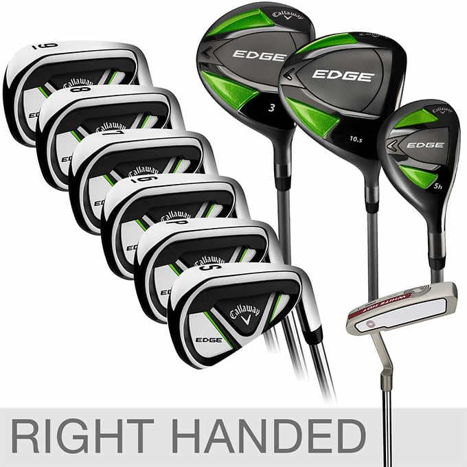 Alive Again Callaway Edge 10-piece Golf Clubs, Right Handed $499.99 Free Shipping @ Costco