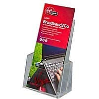 Amazon Deal: Clear Acrylic Brochure Holder $0.00 fs