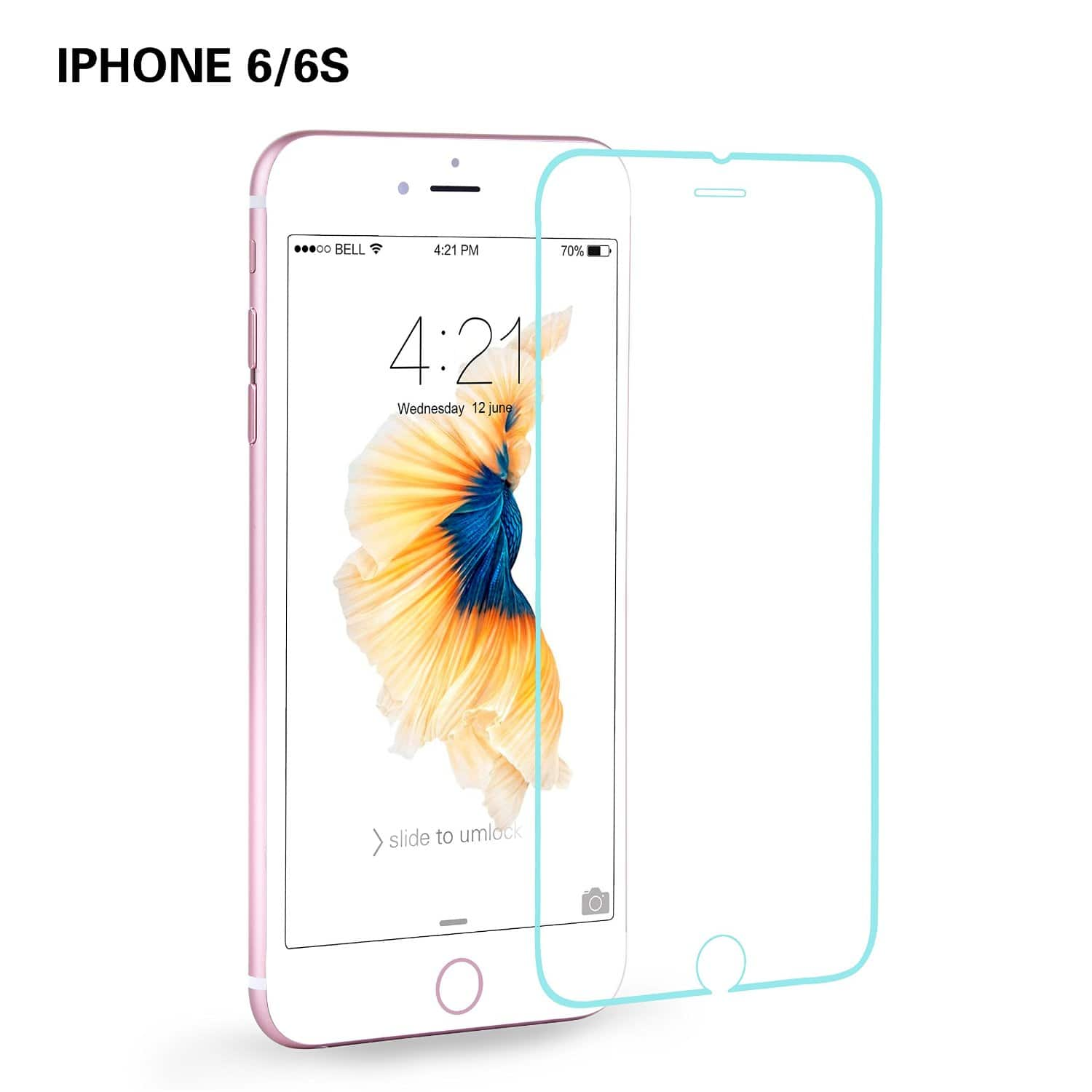 iphone 6S glass screen protector $0.99