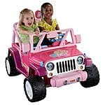 Power Wheels Barbie™ Jammin' Jeep® Wrangler $239.99 Store pickup SYW Points Kmart Also TMNT and Frozen on sale