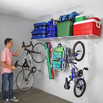 "Costco.com -- SafeRacks Wall Shelf Combo Kit, Two 18"" x 48"" Shelves, Four Deck Hooks $49.99 + FS"