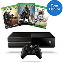 Xbox One Madden NFL 15 Bundle + Destiny or Madden NFL 15 or Titanfall + Free Shipping for $399