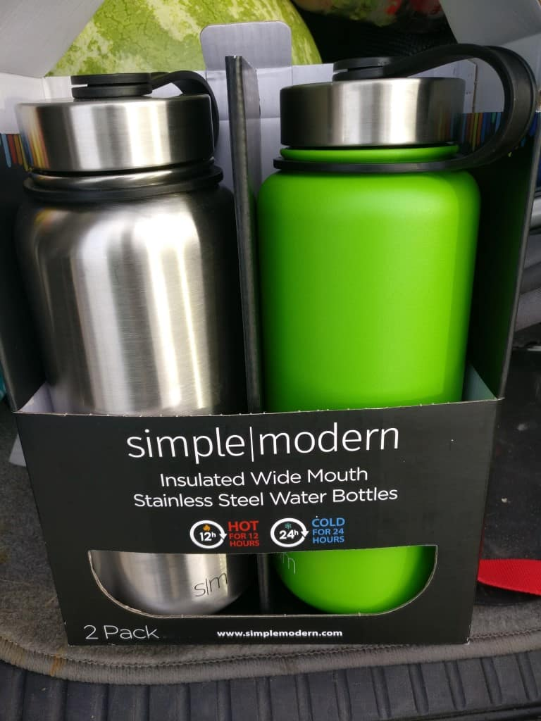 [SAMS CLUB B&M clearance - YMMV] Simple Modern 32 oz. Summit Vacuum Insulated Stainless Steel Water Bottle, Various Colors (2 pack) $7.71!