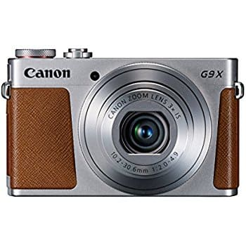 Canon PowerShot G9 X Digital Camera @$339.15 (Silver and Black) & Free Shipping